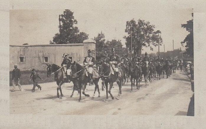 1909 07 14 Belfort CPhoto EM 14e division R XX