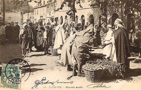Tlemcen marché arabe