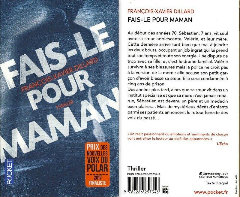 3 - Fais le pour Maman - François-Xavier Dillard