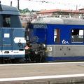 Rame réversible régionale + BB 67 400 à Toulouse
