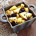 Mini clafoutis aux pommes et pépites de chocolat
