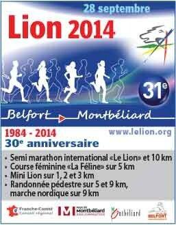 Affiche Lion 2014 31ème