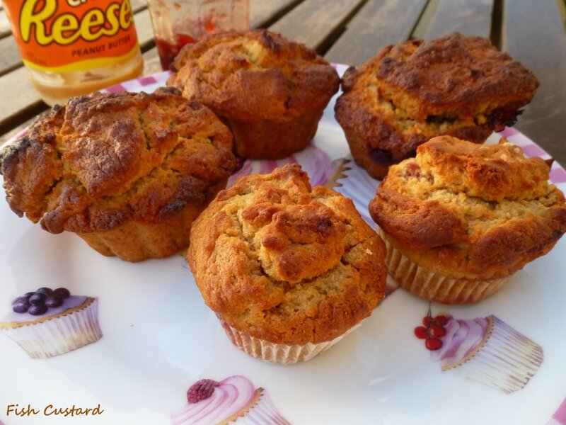 Peanut Butter & Jelly Muffins (33)