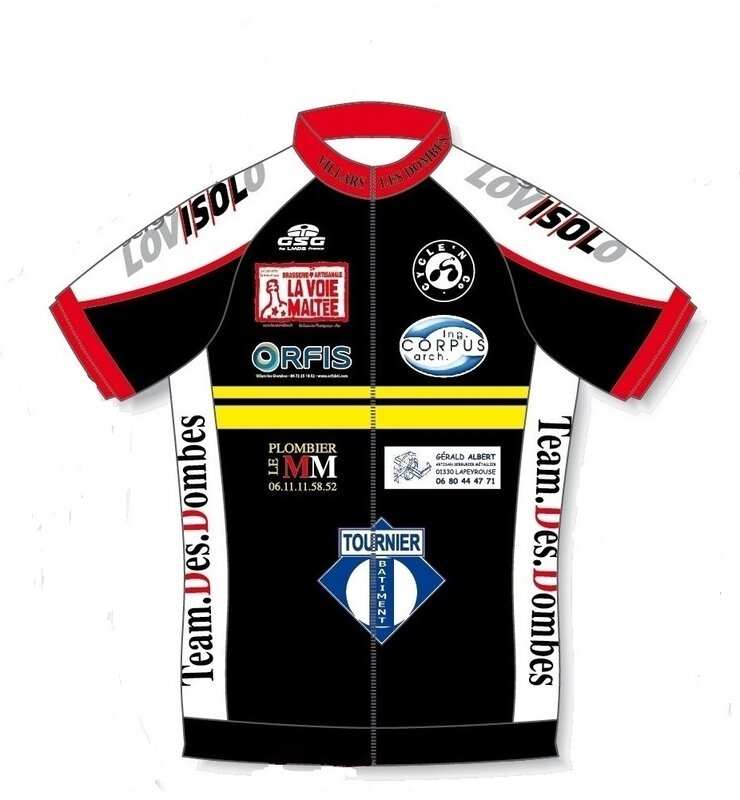A_TEAM DES DOMBES MAILLOT 2019