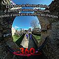 1224 trêve de montreuil bellay d' aimery vii vicomte de thouars, accordée à louis viii le lion, roi des français