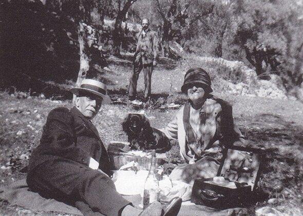 Edith Wharton et Walter Berry
