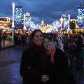 48)Lilo et moi devant Main street