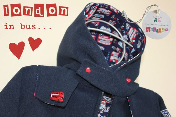 Manteau London La capuche