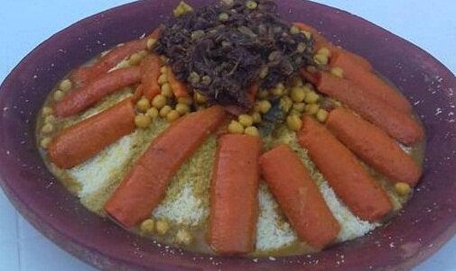 le plat de couscous du dimanche 1er juillet