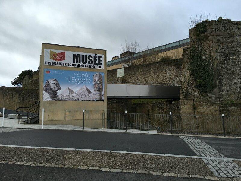 Scriptorial Avranches musée manuscrits Mont-Saint-Michel exposition Egypte 2016