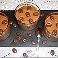 Mousse au chocolat, pralinoise et la ricotta