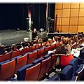 Restitution d'expérience : l'accueil de la 1ere l au théâtre des franciscains