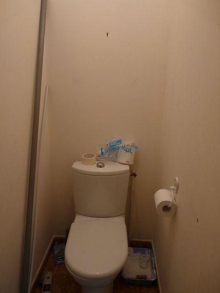 toilettes avant