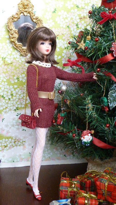 Barbie Francie en robe pull