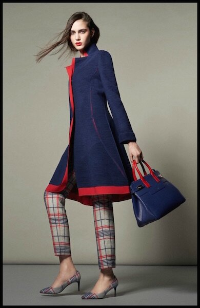 giorgio armani collection spring tartan capsule 5