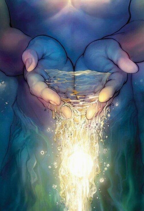 fleuves d'eau vive coulent de sons sein