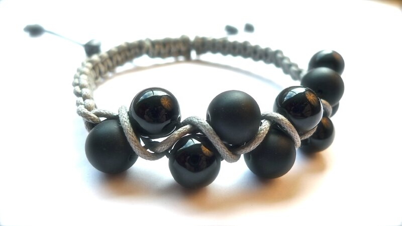 Shamballa double rangs ONYX