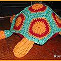 Un deuxième doudou tortue au crochet