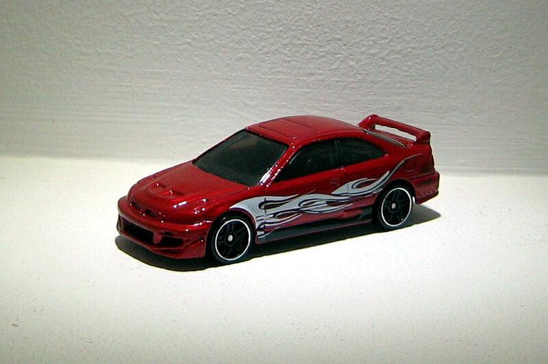 Honda civic SI (2014)(Hotwheels)