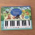 Nous avons découvert mon grand livre-piano morceaux classiques (editions usborne)