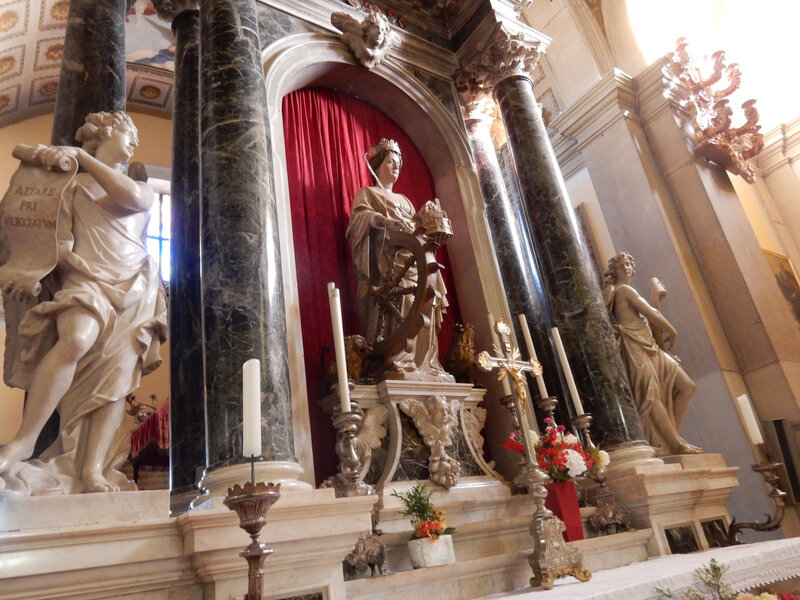 Rovinj, dans la cathédrale Sainte-Euphémie 25 octobre 2019 (2)