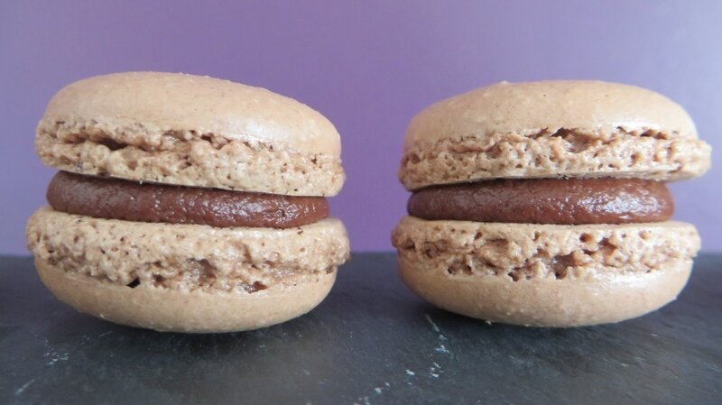 Macarons chocolat (7)