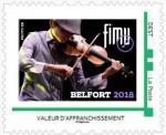 Timbre FIMU Le violoniste