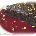 Gâteau au chocolat-courgette-pistache