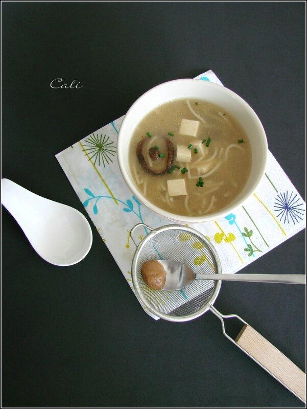 Soupe Miso 001