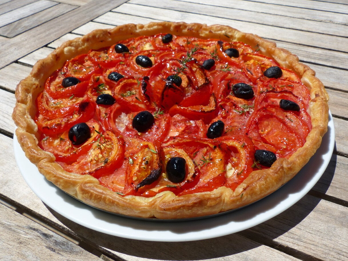 La tarte aux tomates et aux amandes de Yotam Ottolenghi