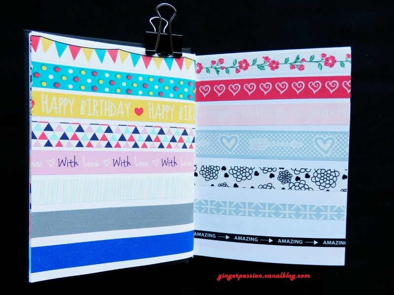 Collection Washi tape page 4