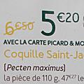 Chez picard, les coquilles saint-jacques normandes deviennent... bretonnes!