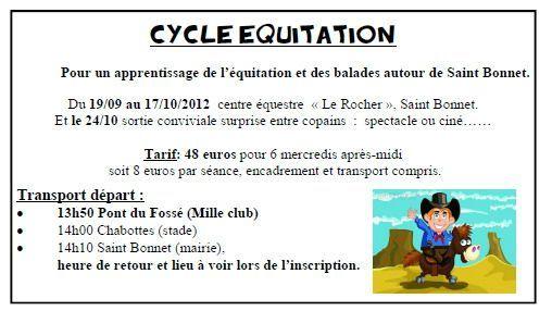 equitation sept 2012