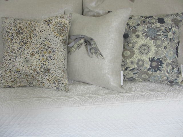 coussins liberty Ailes d'Ange