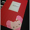 Marque-page hello kitty 2