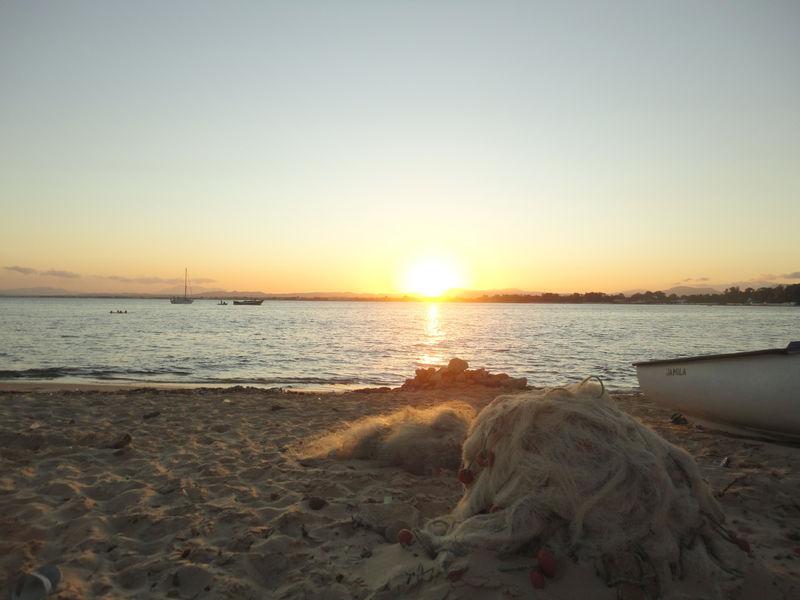 Le coucher de soleil du jeudi 11 août 2011