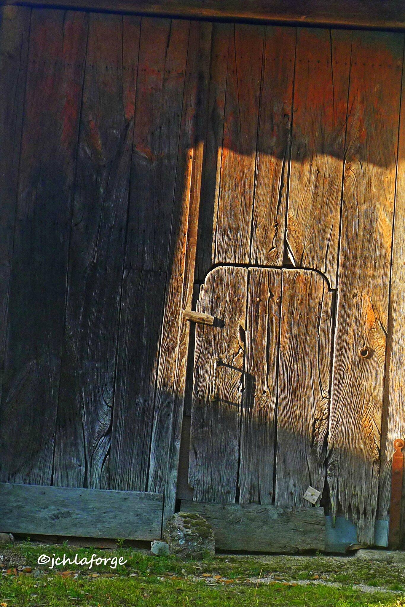 Porte rouillée.