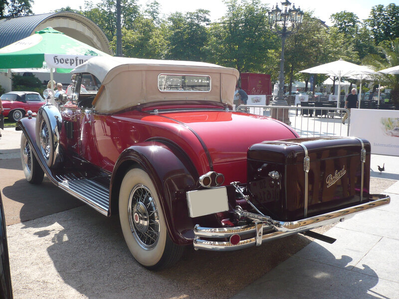 PACKARD Deluxe Eight 840 roadster 1931 Baden Baden (2)