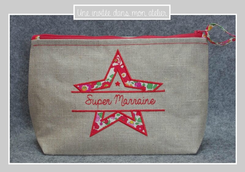 trousse de toilette-super Marraine-Liberty-betsy grenadine - Copie