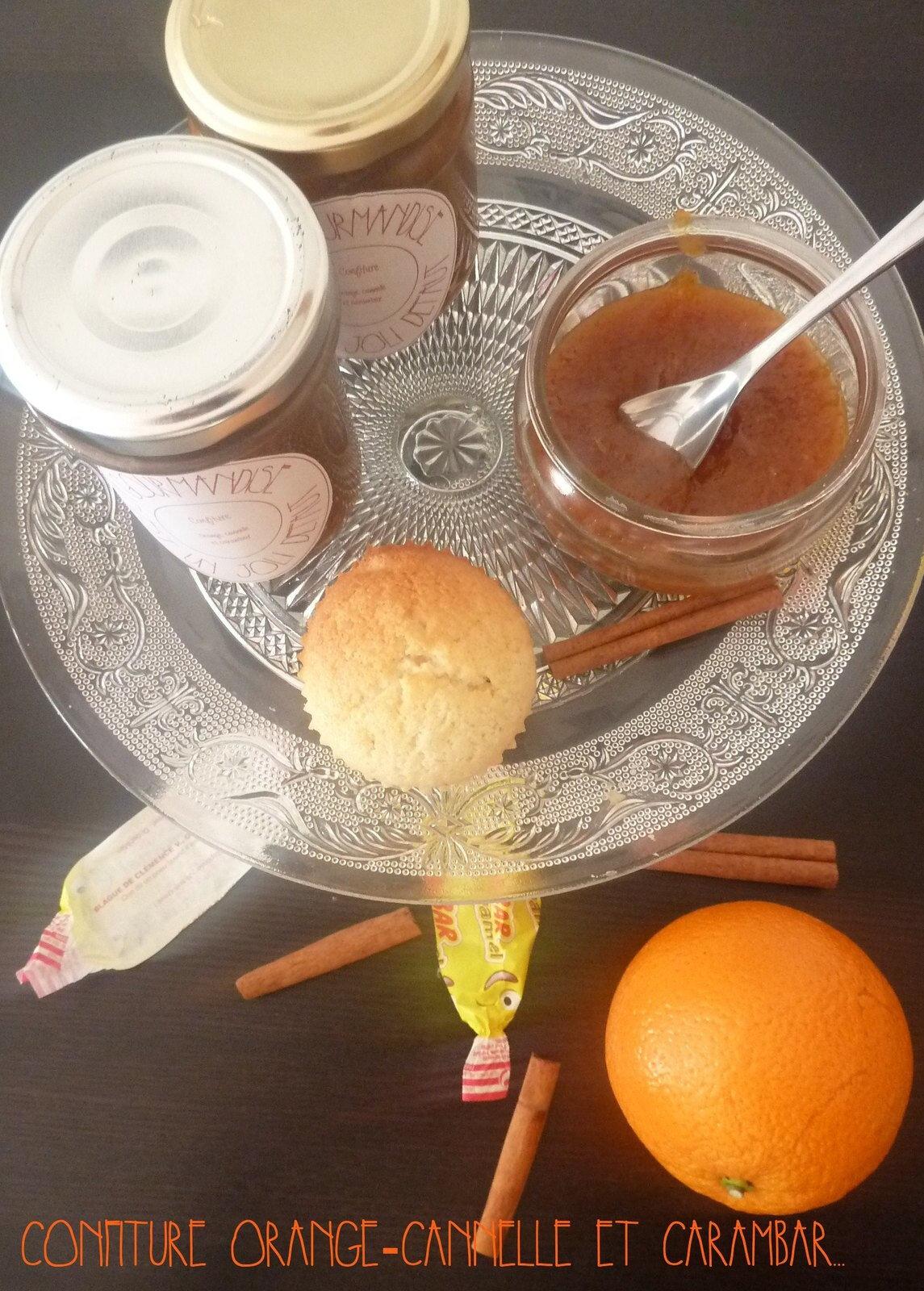 Confiture d'oranges aux carambars