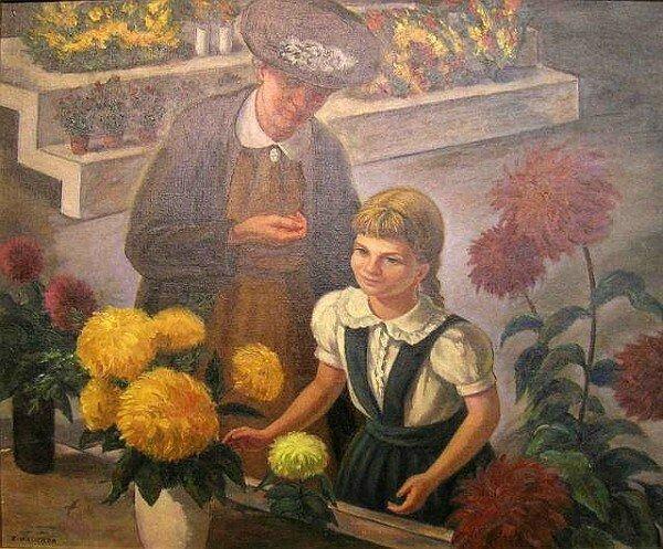 Brucker Edmund Flower Market