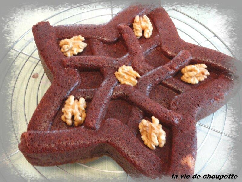 SOUPE LENTILLES - gateau chocolat noix 009