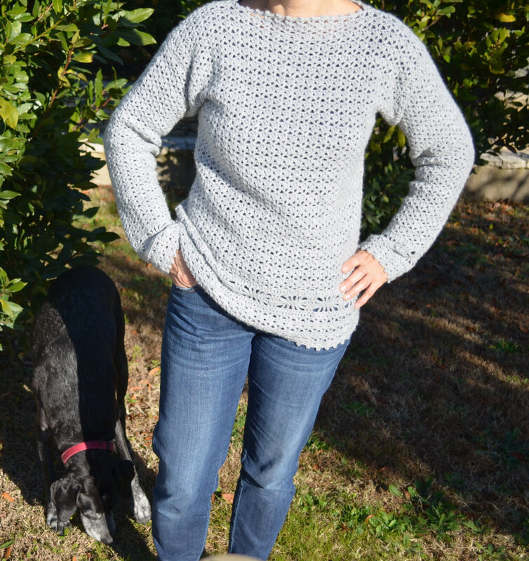 Pull crochet-laine-La chouette bricole (2)