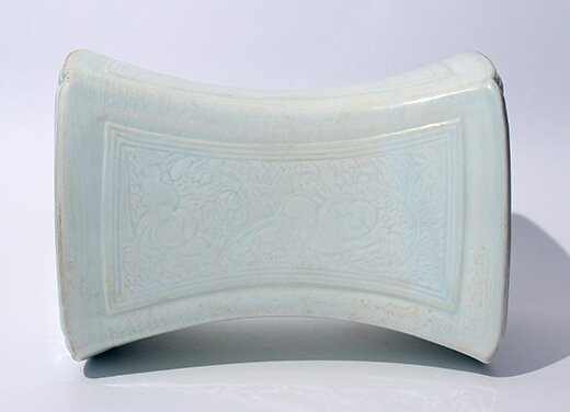 A Qingbai 'boys' pillow, China, Song Dynasty
