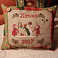 Cuscinetto natale - xmas little cushion - coussinet de noel