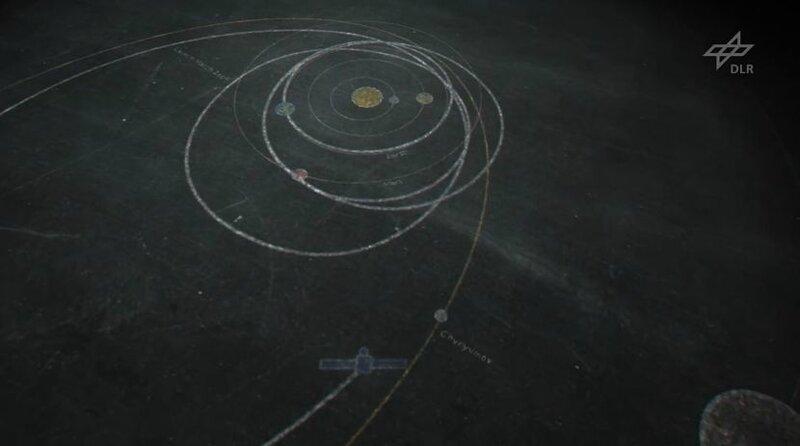 sonde rosetta comète etude systeme solaire roche cnes spatial exploration