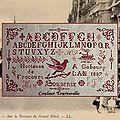 Hortense de frocourt 1887 à cabourg