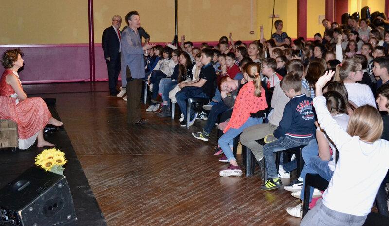 COMÉDIE PICARDIE 2018 EDEN OGRELET Christophe Laparra élèves 2