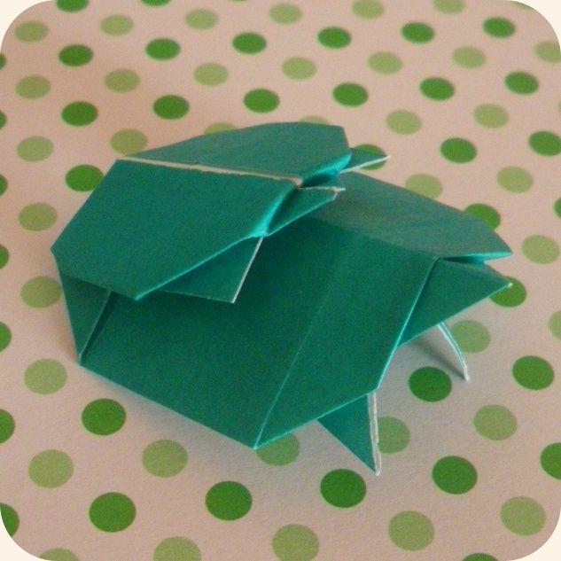 Parent et Bébé Tortue (Origami Club)