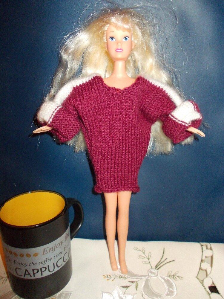Barbie au saut du lit